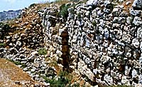 The ruins of Mitzpa, from Encyclopedia.com
