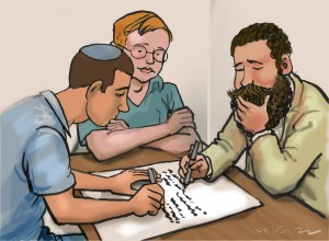 <em>Drawing byAvi Katz</em>