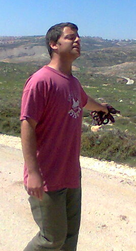 Itay Harel at Migron outpost