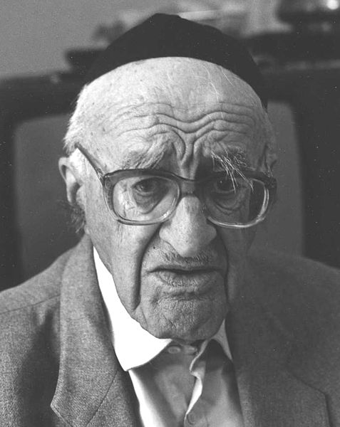 Yeshayahu Leibowitz, by Bracha L. Ettinger, via Creative Commons